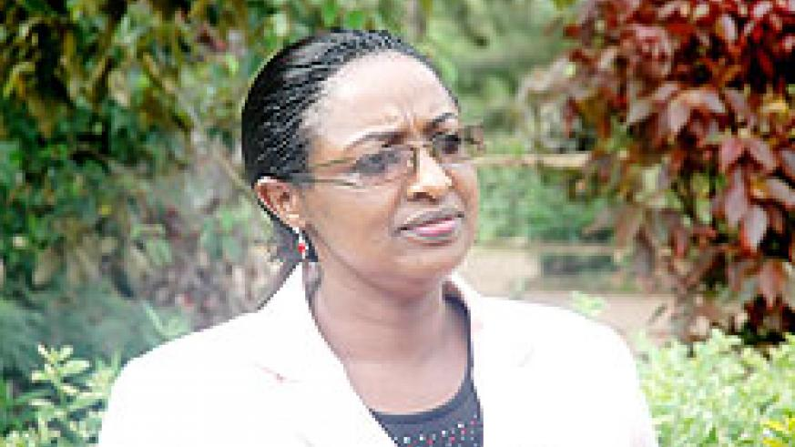 Anne Mugabo, the Director General of Employment, MIFOTRA