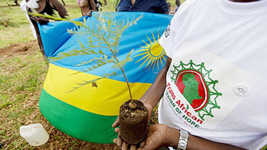 Several African countries, Rwanda inclusive, have convened for a 4000km journey that started at Bujumbura (Burundi) and ends in Durban (South Africa). Net Photo.