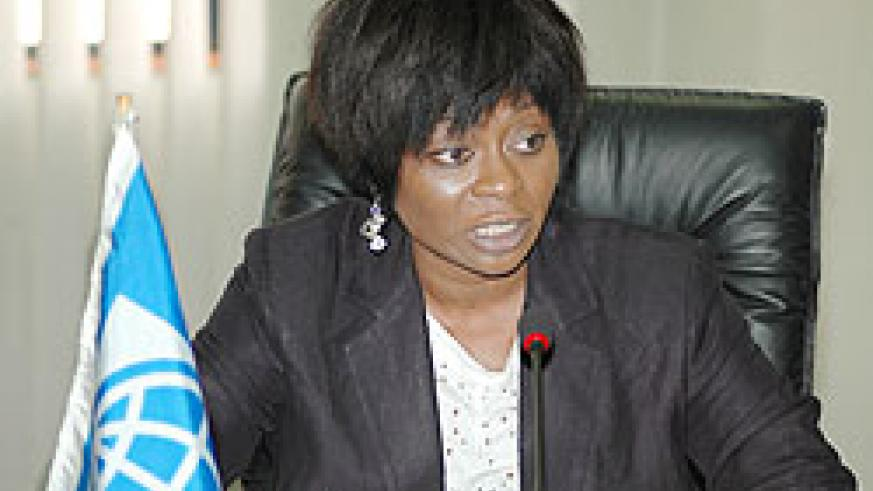 World Bank Country Manager for Rwanda Mimi Ladipo. The New Times / File.