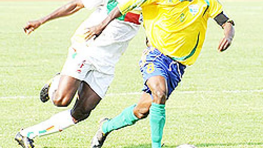 Amavubi midfielder Haruna Niyonzima was been one of the team's outstanding players in Dar es Salaam. Amavubi coach Micho expects a lot from him today. The New Times / File.