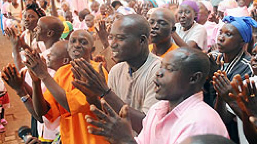 Inmates in Nsinda prison overwhelmed with joy. More were released from Kibungo prison. The New Times / File