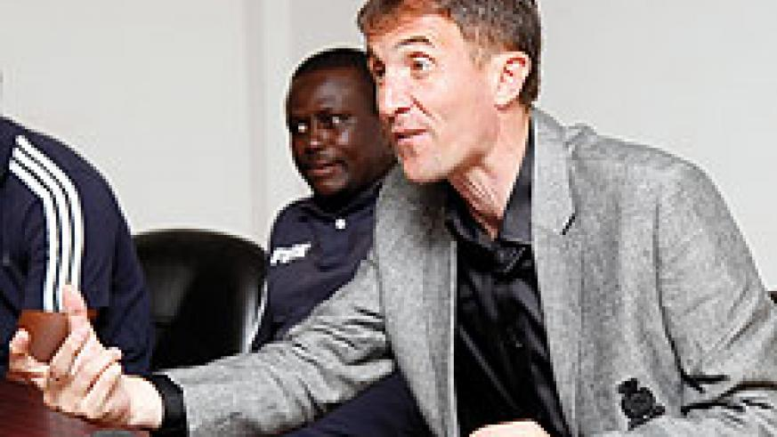 Amavubi head coach Milutin Micho Sredojevic. The New Times / File