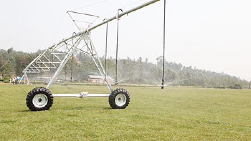 Promotion of irrigation will boost food production.The New Times File.