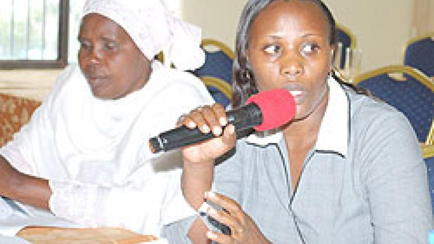 Representatives-from-various-women's-groups-in-the-country-react-to-the-findings-of-the-FEMNET-Report-during-a-recent-meeting-(Courtesy-Photo)