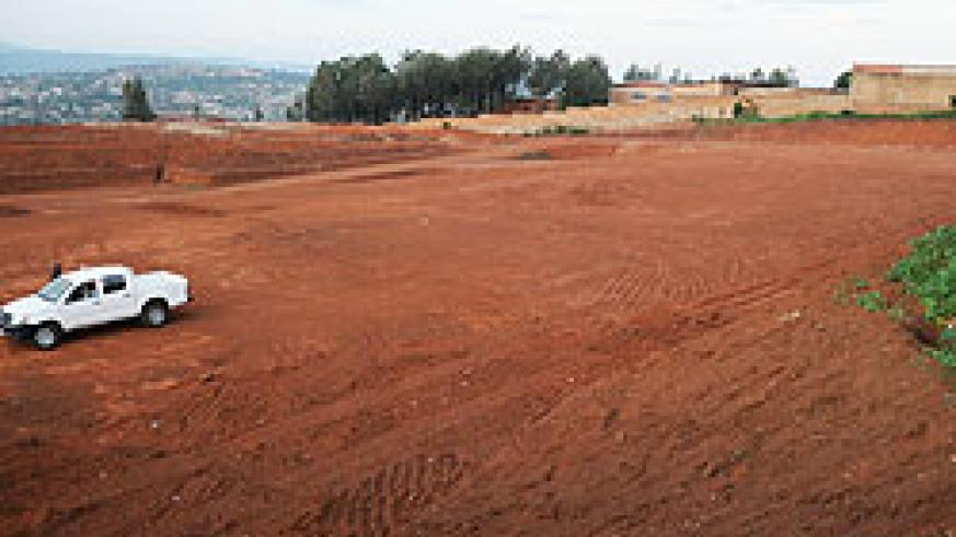 There is little activity at the site where the Mihima terminal is supposed to be constructed. The New Times / T. Kisambira