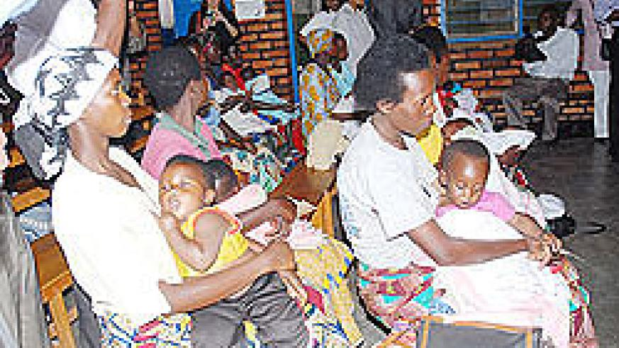 Performance contracts have helped many Rwandans to access health services. The NewTimes / File.
