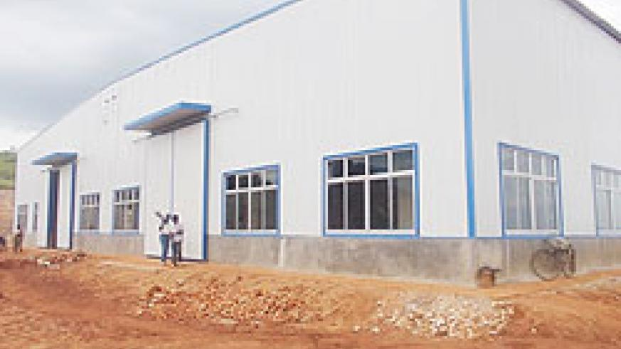 The newly cosntructed granite factory in Rutaraka cell. The New Times. / D. Ngabonziza