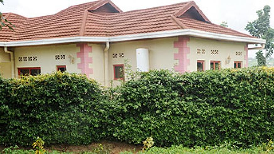 A house in the controversial Hill View  estate developed by DN International. The firm has resorted to selling shares to raise money for its creditors. The New Times / File.