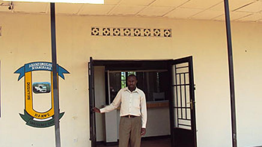 A Umurenge SACCO office in rural Rwanda. Saccos play a pivotal rile in fighting against poverty. The New Times / File.