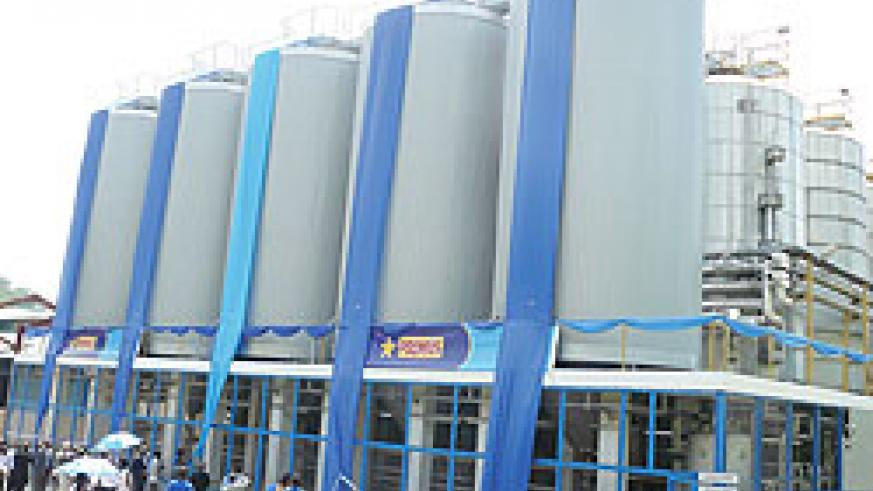 Bralirwa's beer plant in Gisenyi . The New Times/File photo