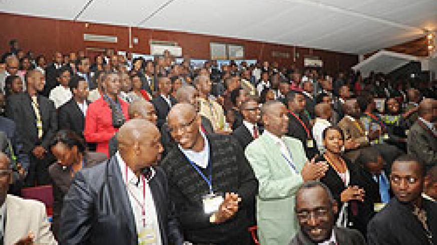 Members of the Diaspora who attended the Dialogue Meeting last week. They have vowed to increase their remittances to the country. The New Times / File.