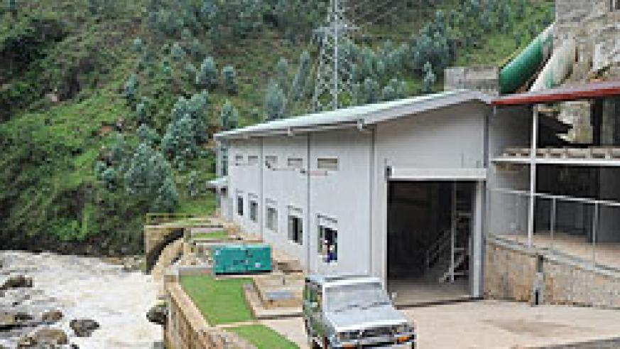 Rukarara power house whose parliamentary probe has been extended. The New Times / File.