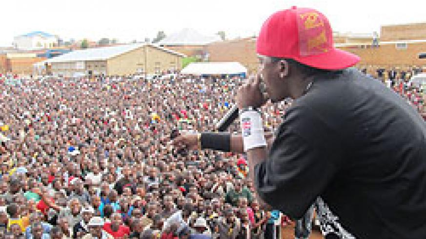 Riderman is one of Rwanda's favourite musicians. The New Times/ File