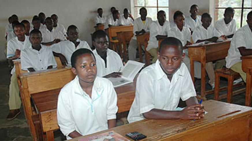 With access to education, Rwandan youth have a great future lined up. The New Times / File.