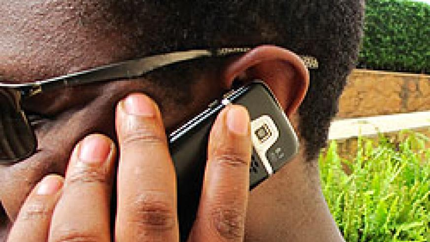 Rwanda's mobile penetration rate set to rise to 60 per cent by end 2012. The New Times / File.