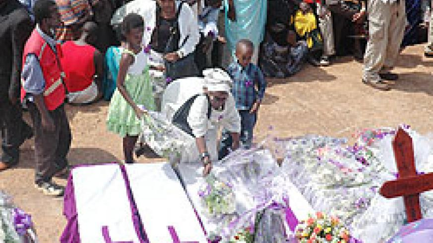 All Genocide victims should be accorded a descent burial. The New Times / File.