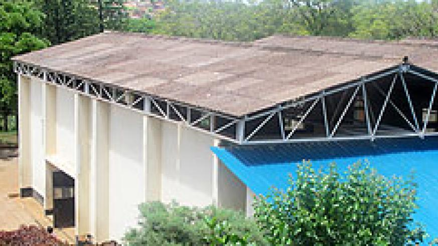 Lycée de Kigali gymnasium is one of the public buildings with asbestos roofing. The New Times / File.