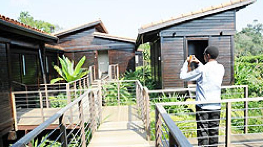 A view of Nyungwe Forest Lodge in Nyamasheke District . The New Times/File.