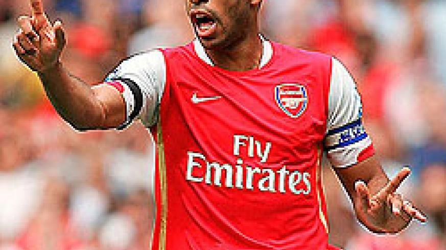 Thierry Henry's return  will be an inspiration to Arsenal's younger players. Net Photo.