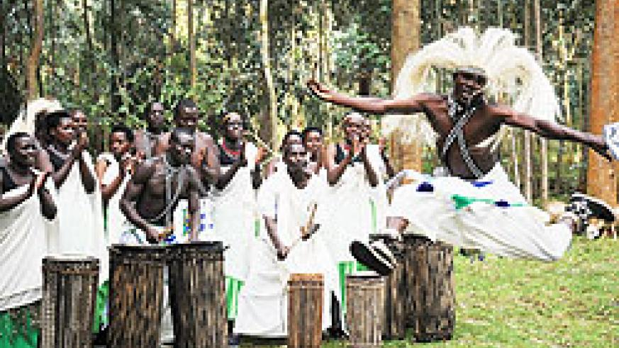 Communities living in the environs of the Virunga Massif have turned to promoting culture from poaching from the park. The New Times / J. Mbanda