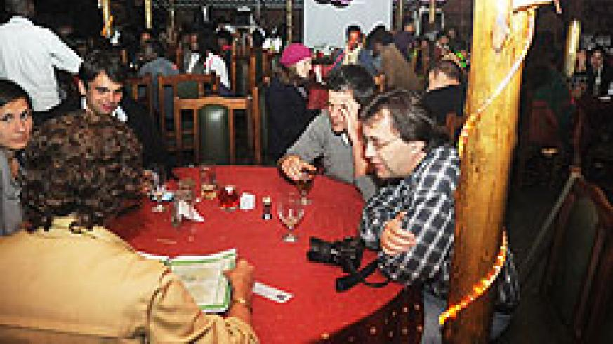 At The Indian Chef, people partied until 2 a.m.