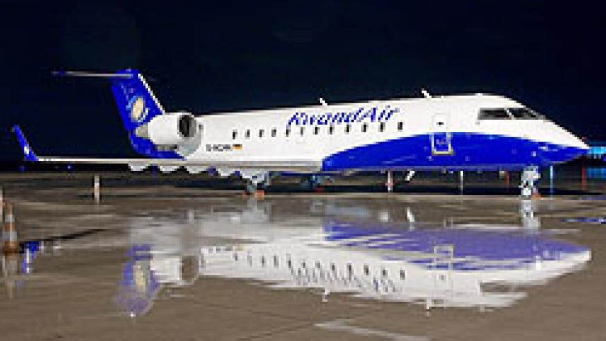 RwandAir is set to replace two 50 seater CRJ200s with brand new regional jets.The New Times / File.