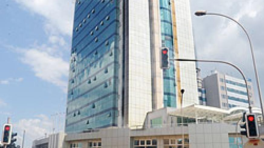 Social Security Plaza in downtown Kigali. The New Times / File.