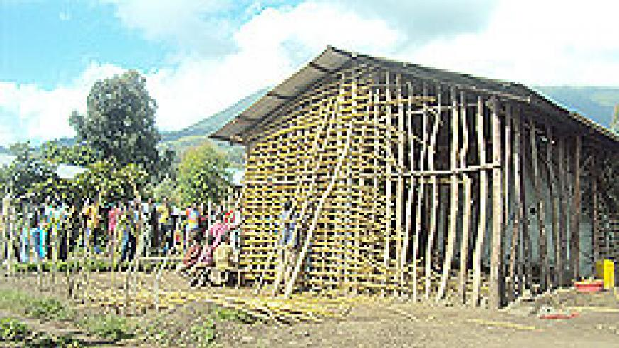 The currrent state of the houses in Shingiro, Musanze. Residents have asked for help from authorities.  The New Times / B Mukombozi