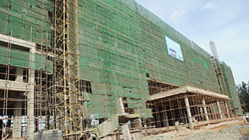 The Marriot Hotel under construction in Kigali. The grading of hotels will be conducted annually according to RDB. The New Times / File.