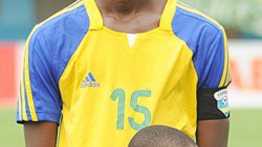 Faustin Usengimana captained Rwanda at last year's CAF U-17 tournament. The center-back is expected to play a part in tomorrow Sunday's Peace Cup clash between Isonga and APR. The New Times / File
