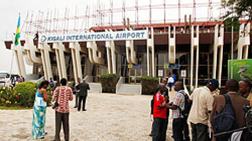 Kigali International Airport that is undergoing expansion and refurbishment is expected to handle an additional 100,000 new passengers this year. The New Times / T. Kiambira