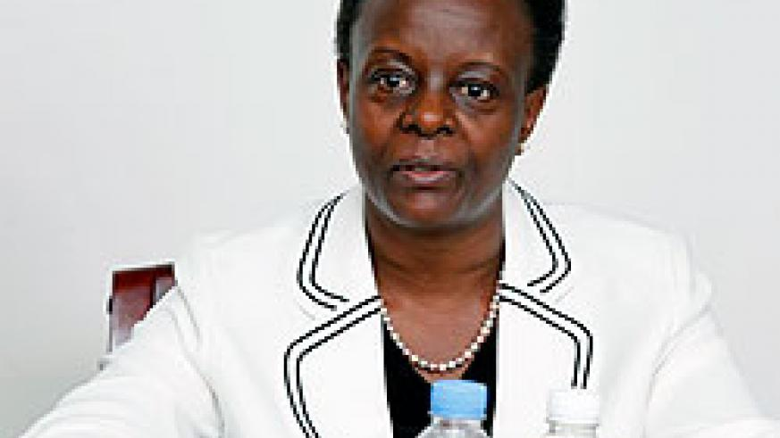 Senator Marie Claire Mukasine took over as head of local chapter of parliamentary network against graft. The New Times / Photo