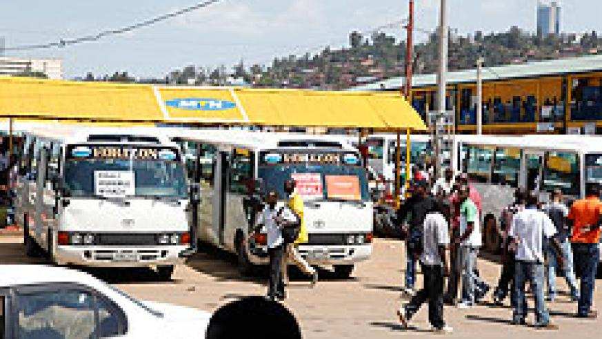 Public transport companies that will be identified as most accidents prone will be stopped from operating. The New Times / File.