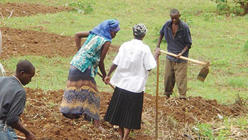 Land is a sensitive subject among families that results into family breakdown in rural areas. The NewTimes/ File.
