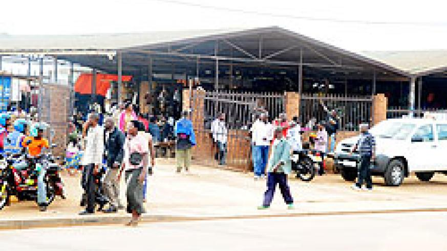 The Kicukiro market has been ordered closed by district authorities to pave way for development of a modern shopping mall. The New Times / File.
