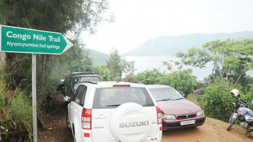 The recently inaugurated Congo - Nile Trail in the Western Province has become a major tourist attraction. The New Times / File.