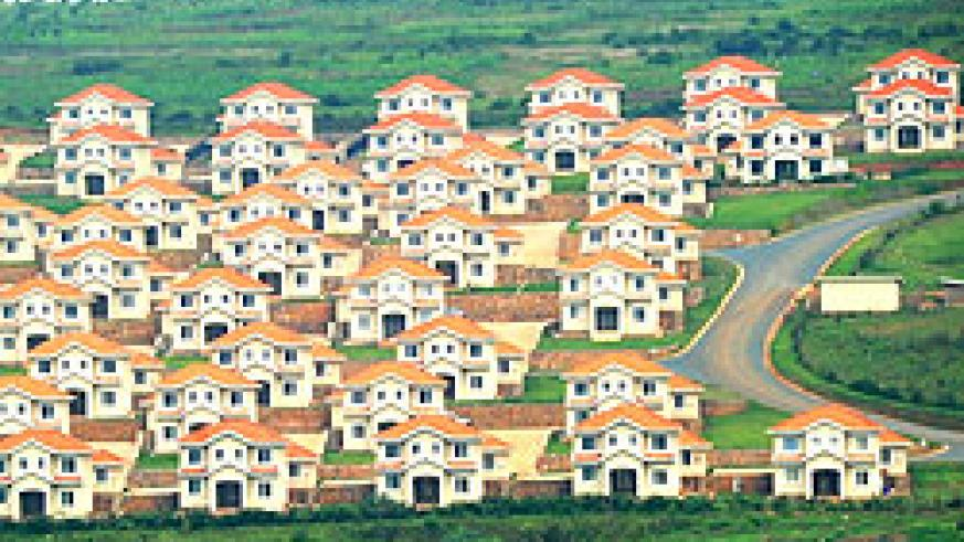 Kabuga hillside estate. Developers have, of recent, targeted high income earners. The NewTimes / File.