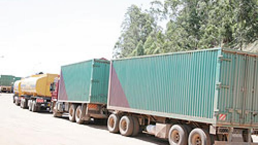 Police has reported reduced accidents after obliging freight trucks to cool off and check mechanical condition before entering Kigali City. The New Times / File