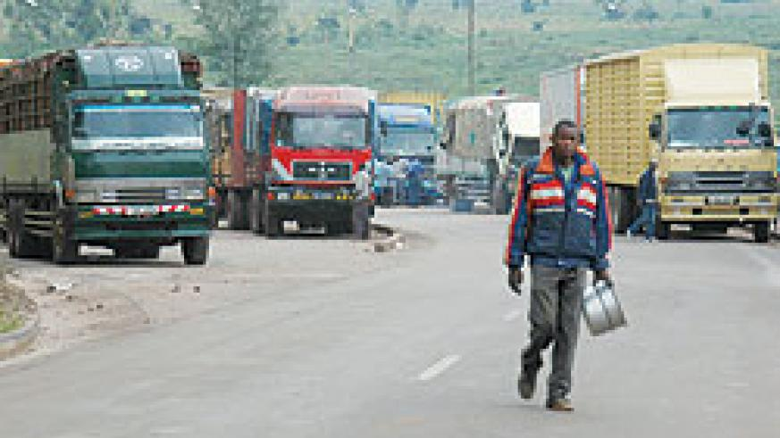 Cargo at Magerwa.  The New Times / File.