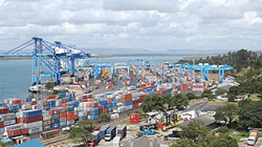 Mombasa Container Terminal which is soon to be decongested. Net photo