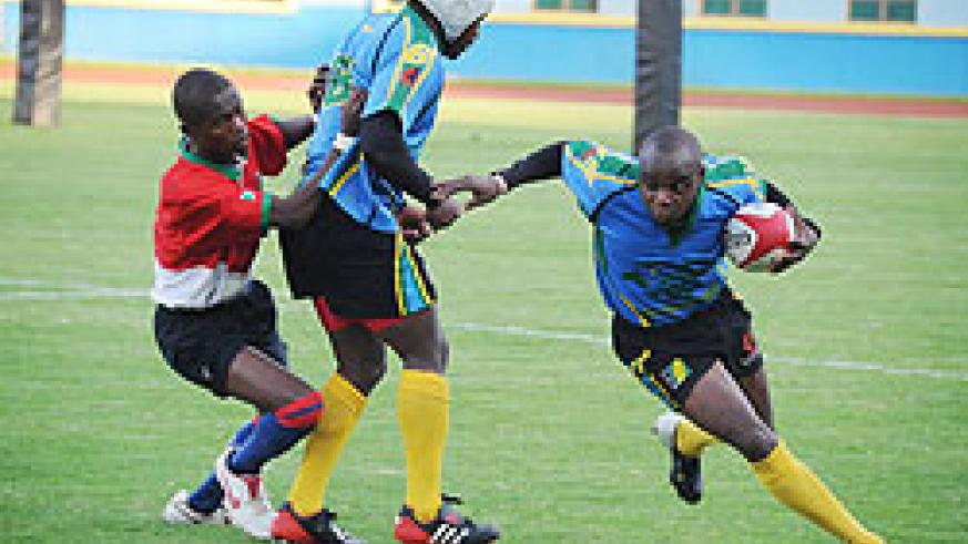 Buffaloes will again count on Vincent Kamali in the upcoming Muhanga 7s. File Photo