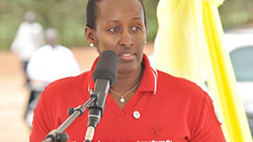 First Lady, Mrs. Jeannette Kagame