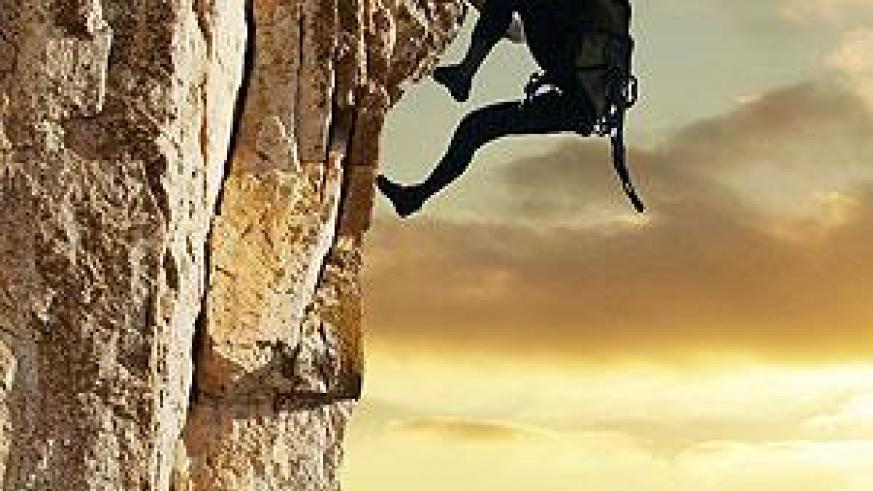 Reach your limits with mountain climbing. Net photo.