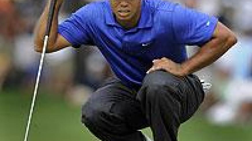 Tiger Woogs has struggled with his putting of late. Net photo.