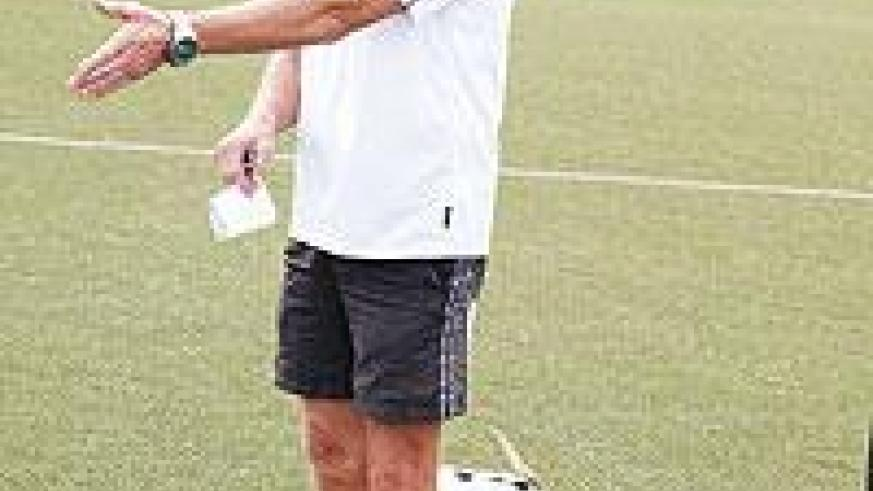 APR coach Ernie Brandts is backing his guns to knock out Tusker FC. The New Times/File.