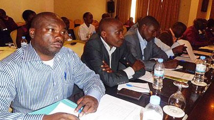 Participants during the Joint United Nations Programme on HIVAIDS (UNAIDS) Rwanda yesterday. The Sunday Times / G. Mugoya