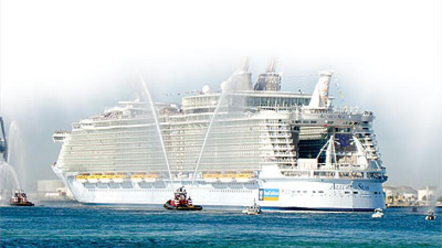 top ten biggest luxury cruise ships in the world the new times
