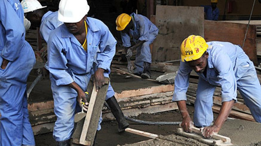 Efforts are underway to empower the youth with skills that are responsive to labour market needs. The New Times / File.