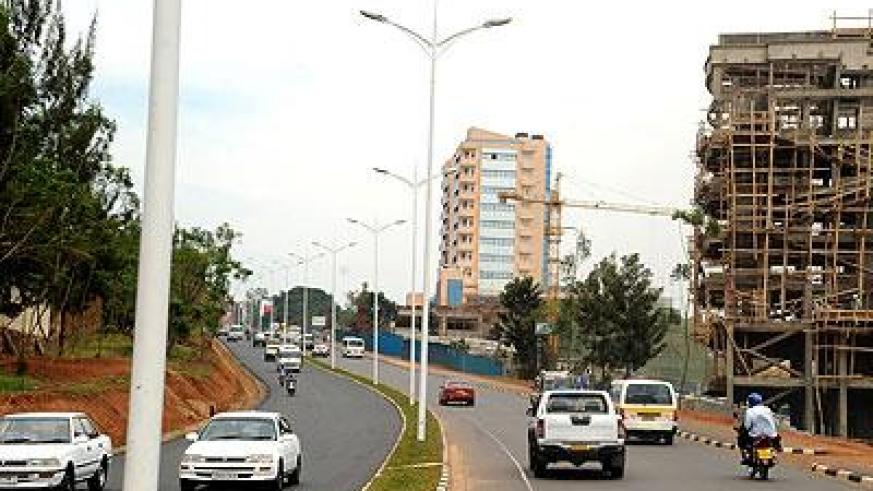 A view of one of the roads connecting to Kigali City. The Sunday Times / File
