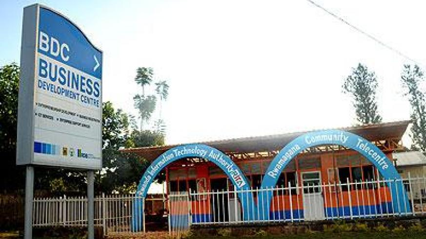 A Telecentre in Rwamagana. The Sunday Times / File.